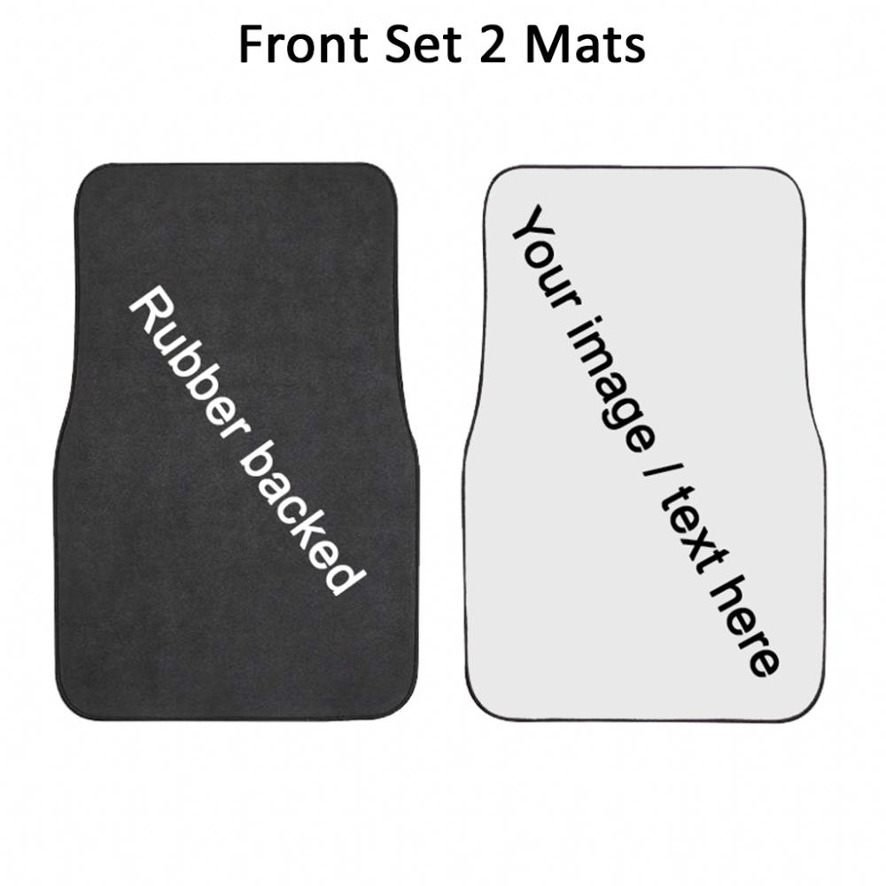 Front Set of two mats